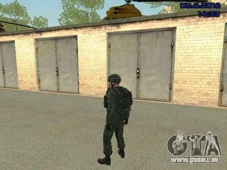 Modern Russian Soldiers pack für GTA San Andreas siebten Screenshot