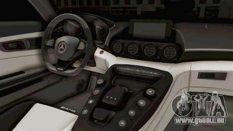 Mercedes-Benz AMG GT 2016 Monster Truck für GTA San Andreas Innenansicht