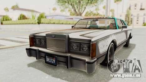 GTA 5 Dundreary Virgo Classic Custom v1 pour GTA San Andreas vue de dessus