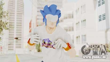 Sonic Man für GTA San Andreas