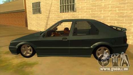 Renault 19 Coupe pour GTA San Andreas laissé vue
