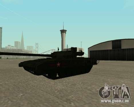 T-14 Armata für GTA San Andreas Innen