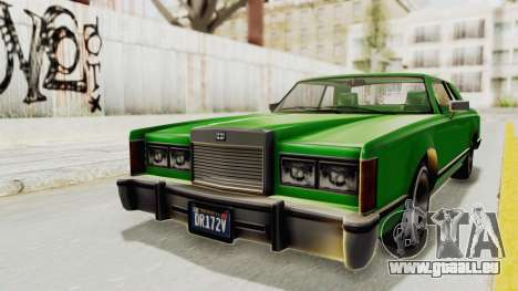 GTA 5 Dundreary Virgo Classic Custom v1 für GTA San Andreas rechten Ansicht