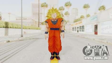 Dragon Ball Xenoverse Goku SSJ3 für GTA San Andreas zweiten Screenshot