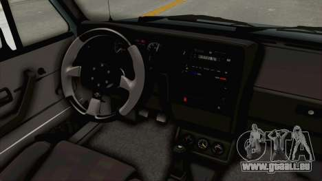 Volkswagen Golf 1 Cabrio VR6 für GTA San Andreas Innenansicht