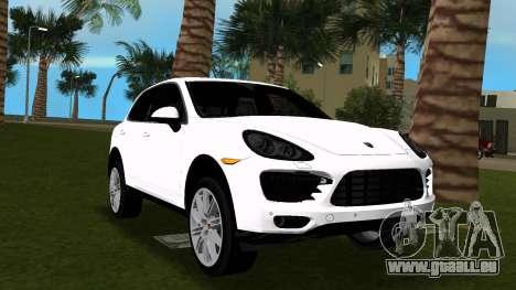 Porsche Cayenne 2012 für GTA Vice City