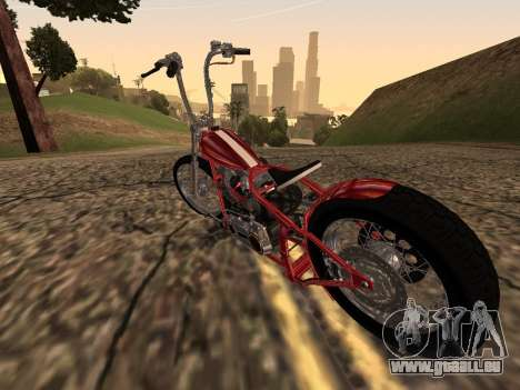 Chopper Old School für GTA San Andreas rechten Ansicht