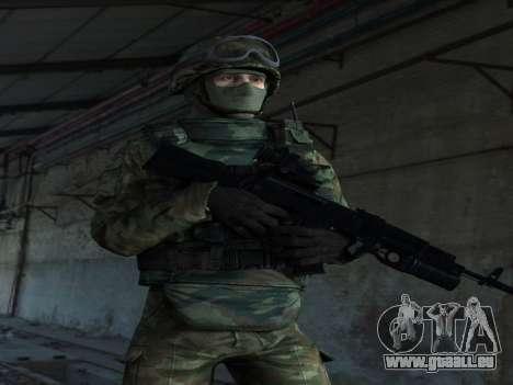 Modern Russian Soldiers pack pour GTA San Andreas deuxième écran