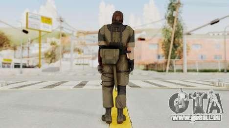 MGSV The Phantom Pain Venom Snake No Eyepatch v1 für GTA San Andreas dritten Screenshot