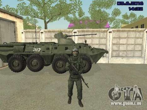 Modern Russian Soldiers pack für GTA San Andreas dritten Screenshot