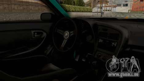 Toyota Celica GT Drift Monster Energy Falken für GTA San Andreas Innenansicht