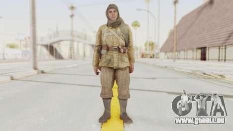 COD BO Nikholai pour GTA San Andreas deuxième écran