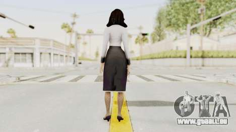Bioshock Infinite Burial at Sea Elizabeth für GTA San Andreas dritten Screenshot