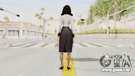 Bioshock Infinite Burial at Sea Elizabeth pour GTA San Andreas troisième écran