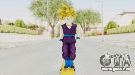 Dragon Ball Xenoverse Gohan Teen DBS SSJ1 v1 für GTA San Andreas zweiten Screenshot