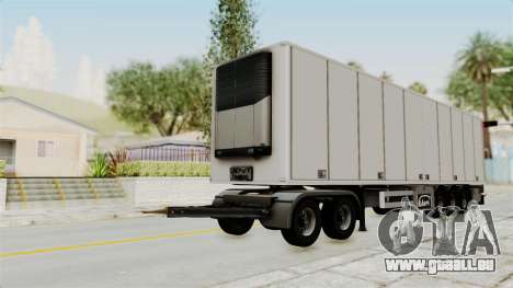 Volvo FM Euro 6 6x4 Tandem v1.0 Trailer für GTA San Andreas rechten Ansicht