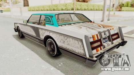 GTA 5 Dundreary Virgo Classic Custom v1 pour GTA San Andreas vue de côté