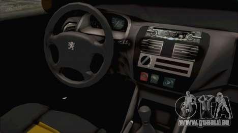 Peugeot 106 für GTA San Andreas Innenansicht