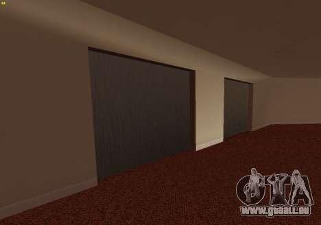 New Interior Radiocenter pour GTA San Andreas quatrième écran