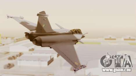 Dassault Rafale Indian Air Force für GTA San Andreas rechten Ansicht