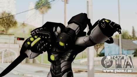 Marvel Future Fight - War Machine für GTA San Andreas