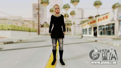 Iranian Girl Skin pour GTA San Andreas deuxième écran