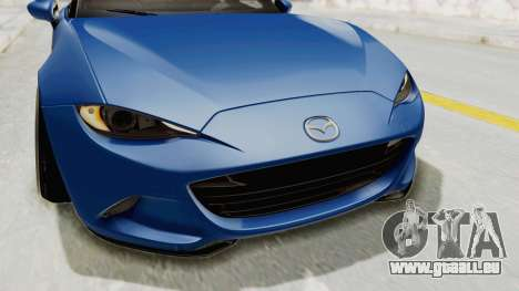 Mazda MX-5 Slammed für GTA San Andreas obere Ansicht