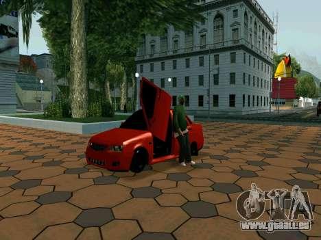 Lada Priora Lambo pour GTA San Andreas laissé vue