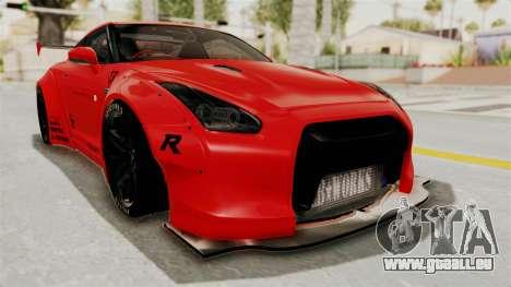 Nissan GT-R R35 Liberty Walk LB Performance v2 für GTA San Andreas