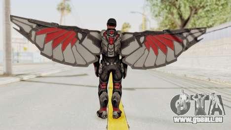 Captain America Civil War - Falcon für GTA San Andreas dritten Screenshot