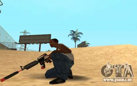 M4 Cyrex für GTA San Andreas her Screenshot