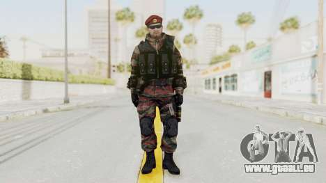Battery Online Russian Soldier 1 v1 für GTA San Andreas zweiten Screenshot