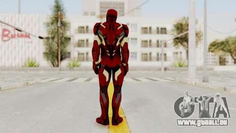 Captain America Civil War - Iron Man pour GTA San Andreas troisième écran