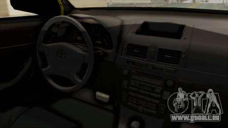Toyota Hilux Expressway Patrol pour GTA San Andreas vue intérieure