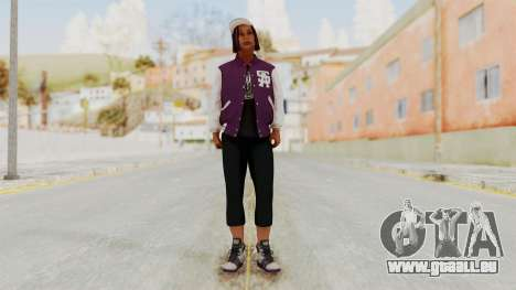 GTA 5 Ballas 3 pour GTA San Andreas deuxième écran