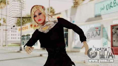Iranian Girl Skin pour GTA San Andreas