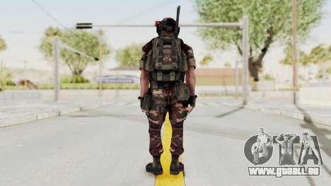 Battery Online Russian Soldier 4 pour GTA San Andreas troisième écran