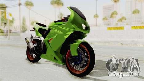 Kawasaki Ninja 250R Asian Style für GTA San Andreas