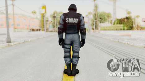 Batman Arkham Origins Swat für GTA San Andreas dritten Screenshot