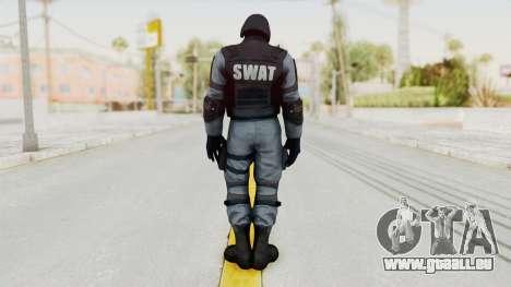 Batman Arkham Origins Swat pour GTA San Andreas troisième écran