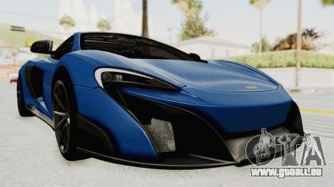 McLaren 675LT Coupe v1.0 für GTA San Andreas