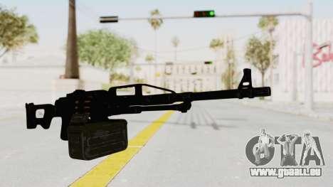 PKM 7.62mm Battlezone Mod pour GTA San Andreas