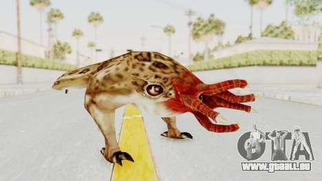 Bullsquid from Half-Life 1 pour GTA San Andreas deuxième écran
