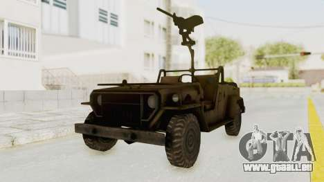 MGSV Jeep für GTA San Andreas