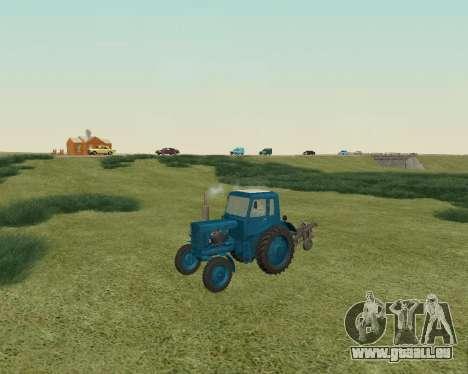MTZ 80 Biélorussie pour GTA San Andreas laissé vue