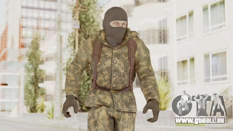 COD Black Ops Russian Spetznaz v2 pour GTA San Andreas