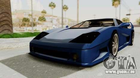 Turismo Fulmine pour GTA San Andreas