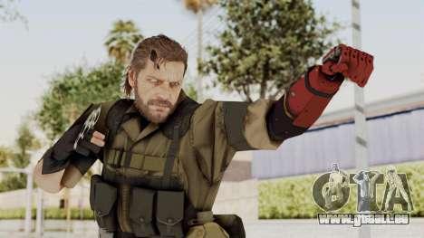 MGSV The Phantom Pain Venom Snake No Eyepatch v1 für GTA San Andreas