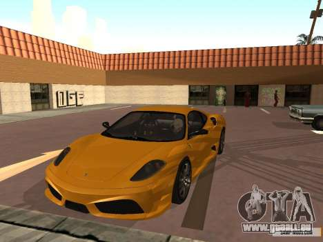 Ferrari F430 Scuderia BULKIN EDITION für GTA San Andreas linke Ansicht