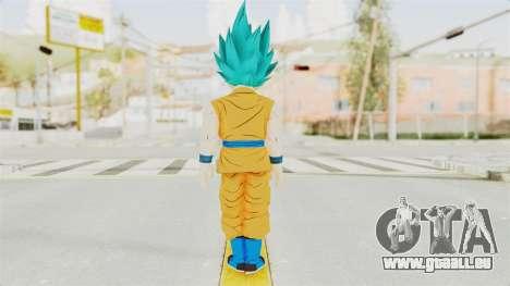 Dragon Ball Xenoverse Gohan Teen DBS SSGSS v2 pour GTA San Andreas troisième écran